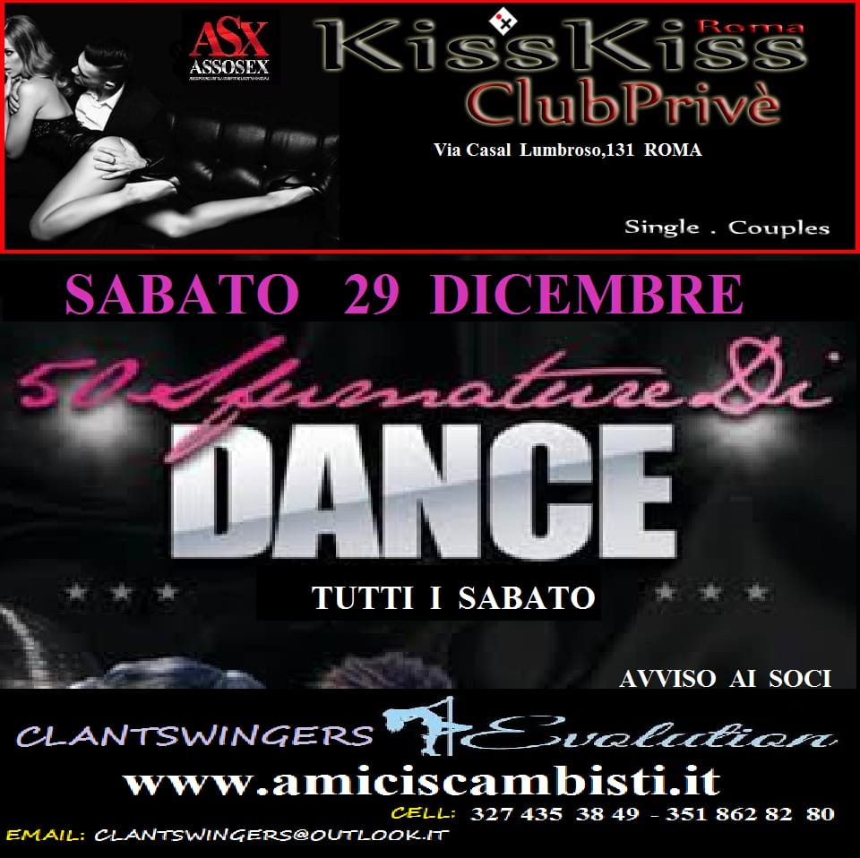50 SFUMATURE DI DANCE