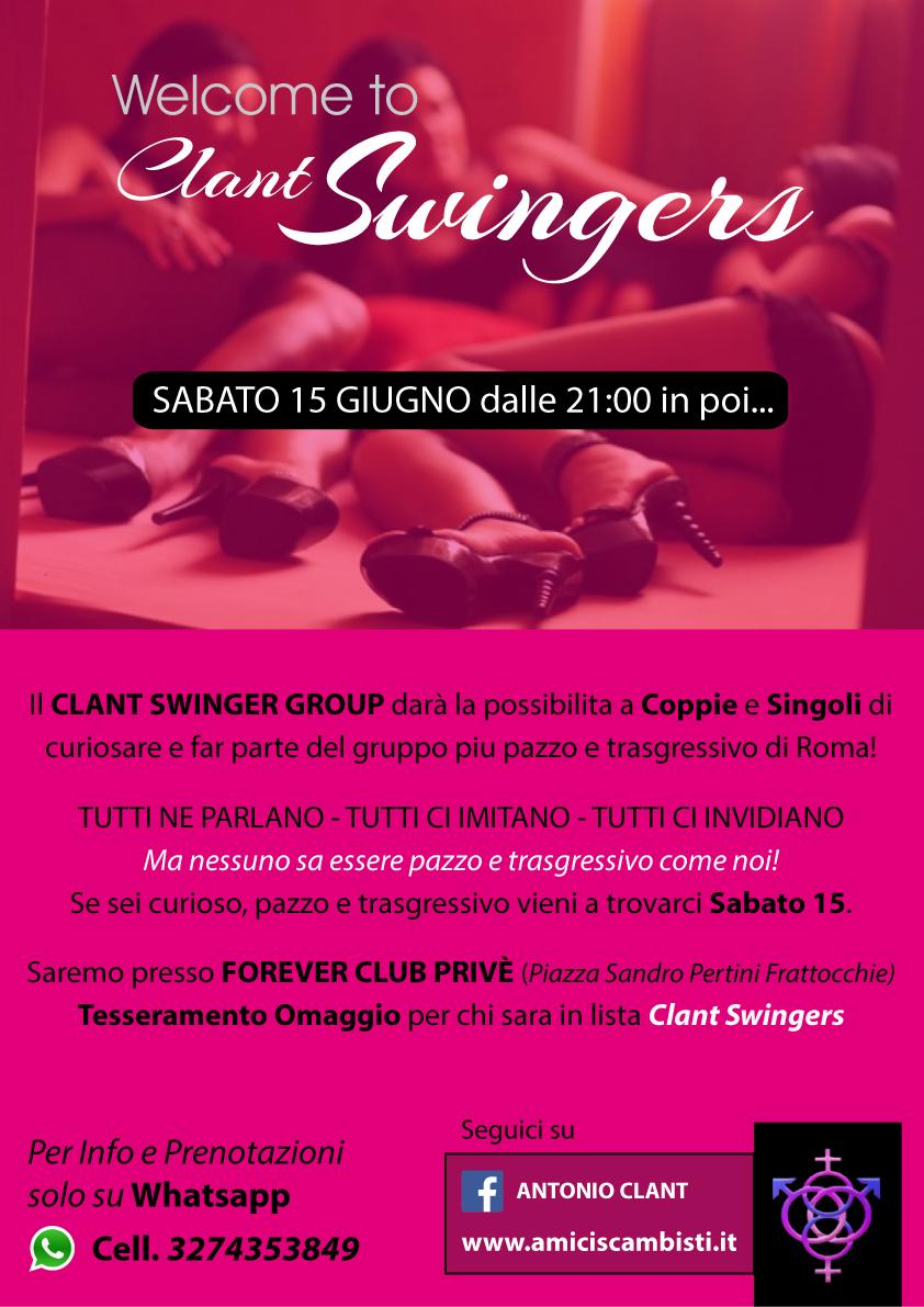 Serata Clant Swingers Roma