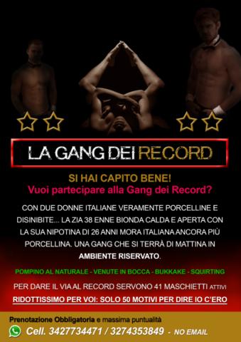LA GANG-BANG DEI RECORD ROMA